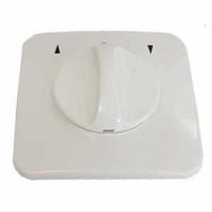 Knebelschalter/-taster Unterputz, ultra weiß
