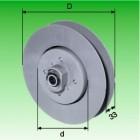 Gurtzuggetriebe,Untersetzung 2 : 1, max. Rolladengewicht 30 kg