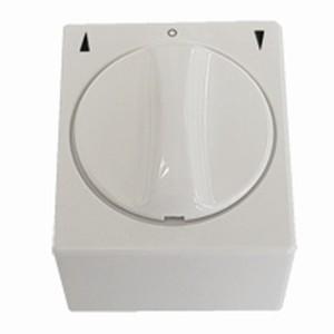 Knebelschalter/-taster Aufputz, ultra weiß